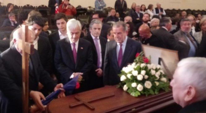 Mundo político despide al ex diputado DC, Andrés Aylwin Azócar, fallecido a los 93 años