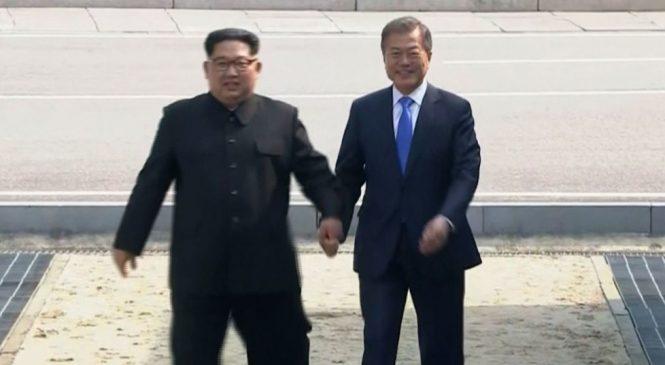 Las dos coreas, comienzan a actuar como una sola nación. Primer gran acuerdo: Ser un país de paz y sin armas nucleares