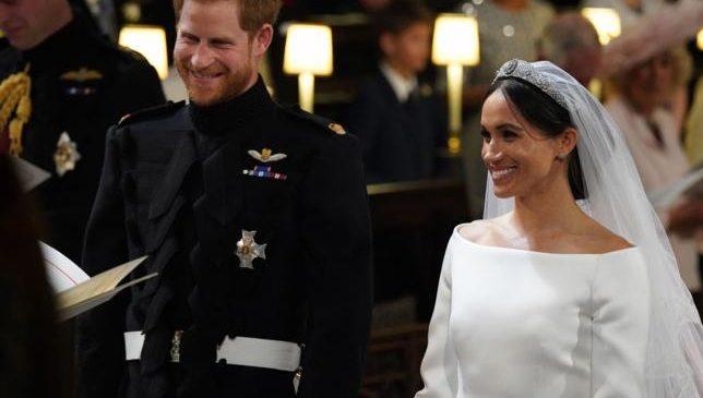 Harry se casó con Megan, ante la mirada del mundo entero