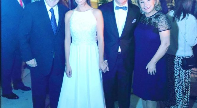 Monckeberg cumplió 50 y se casó con la diputada Nuñez