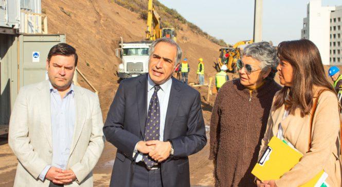 Rodrigo Eitel (Director de DiarioChile) junto al Senador Chahuán, la Concejal María José Aguirre y el equipo del diputado Celis, visitaron las Dunas de Concón